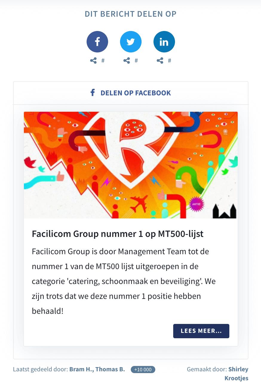 Facilicom Group - Seeding Page