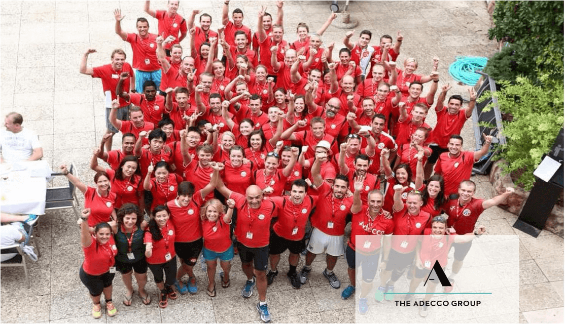Employee advocacy within the Adecco Group.